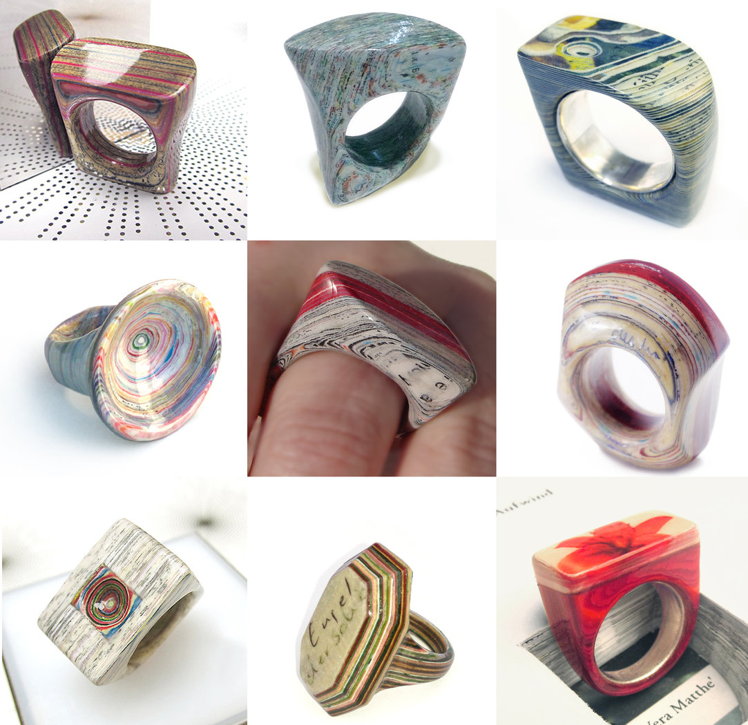 Personal Paper layer ring freeform