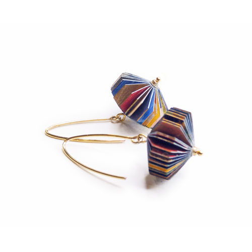 "earrings ""lantern"" multicolor"