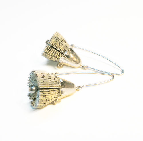"Dangle earrings ""bellflower"""