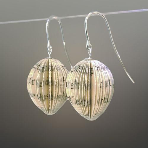 "Dangle earrings ""olive"""